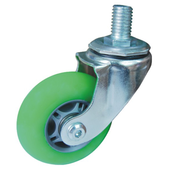 thread screw skate casters